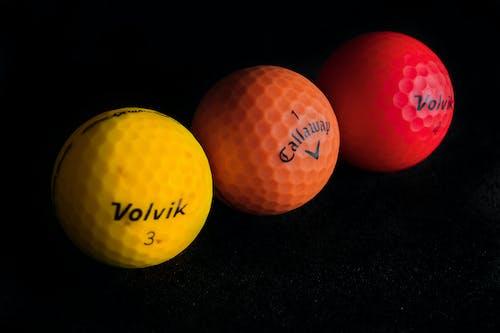 Бесплатное стоковое фото с мячи для гольфа