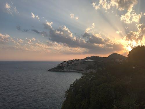 아름다운 석양, 크로아티아의 무료 스톡 사진