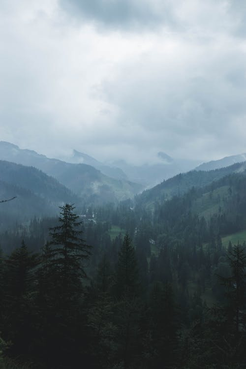 Free stock photo of beatiful landscape, cloudy skies, cloudy sky, Foggy landscape
