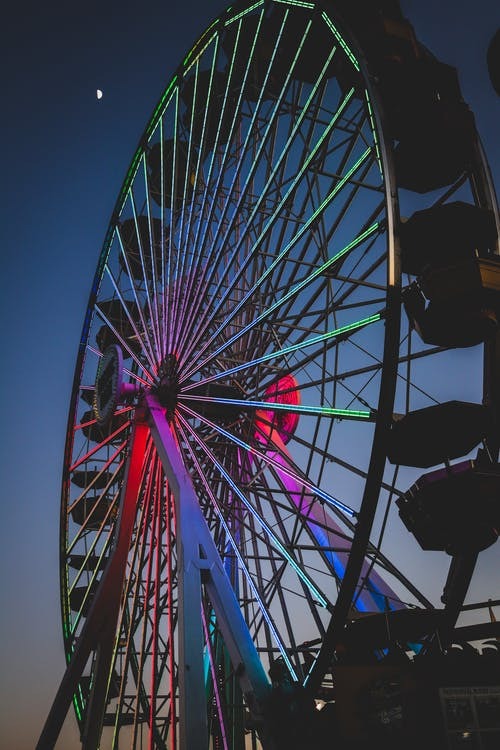 Photo Of Ferris Wheel During Nighttime