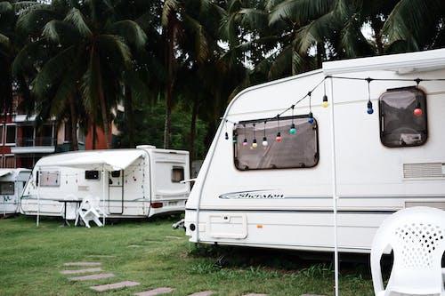 Foto d'estoc gratuïta de acampar
