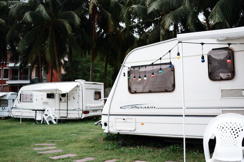Roadtrip with a caravan