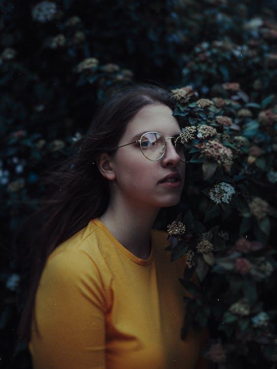 Photo Of Woman Wearing Eyeglasses · Free Stock Photo