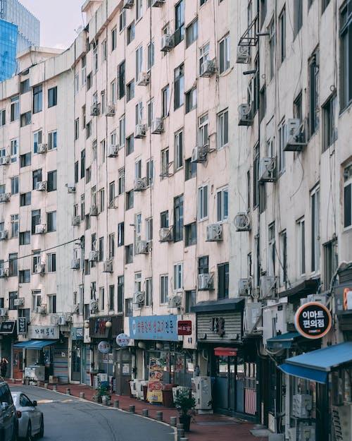 公寓樓, 朝鮮的, 街, 韓國 的 免費圖庫相片