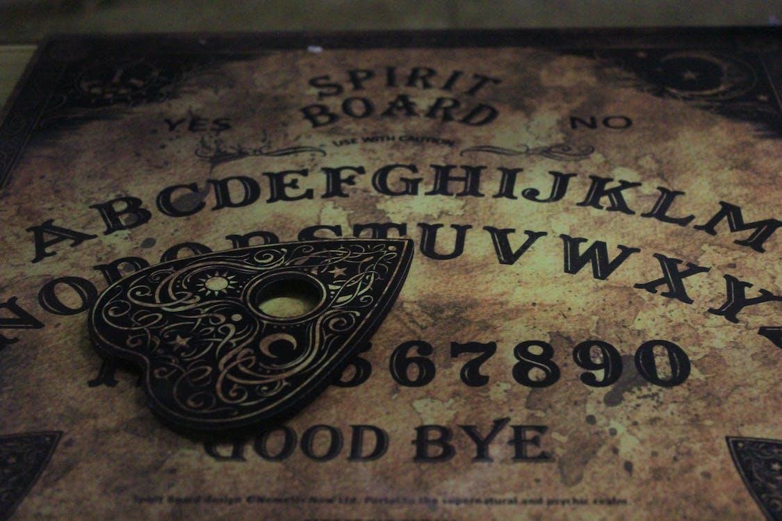 dewan, ouija, papan