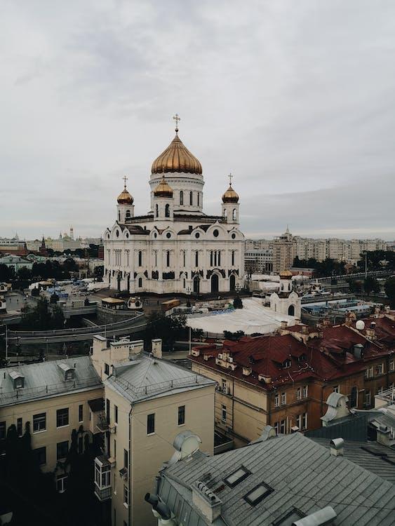 architektúra, budova kostola, budovy