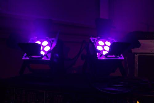 事件, 教會, 燈光, 紫色 的 免费素材照片