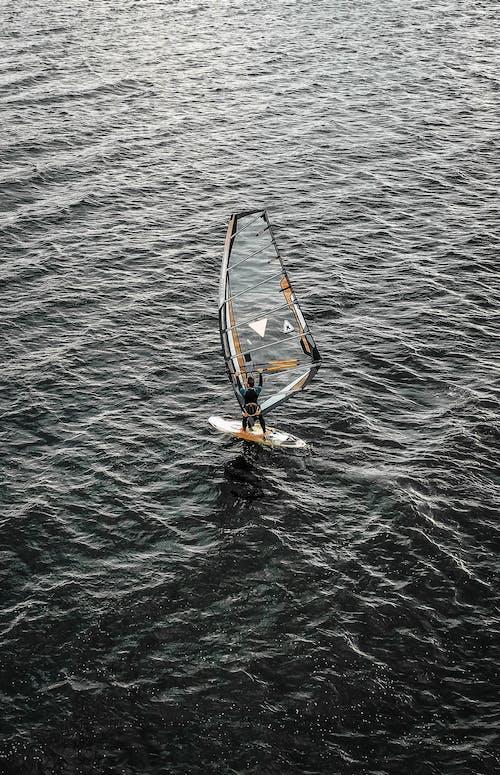 คลังภาพถ่ายฟรี ของ กีฬาทางน้ำ, คน, จากข้างบน, ทะเล