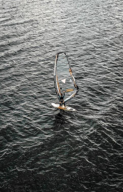 виндсерфинг, водные виды спорта, море