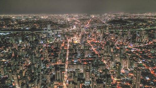 シティ, スカイライン, ダウンタウン, タワーの無料の写真素材