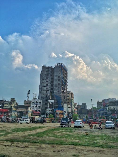 Foto d'estoc gratuïta de #mobilechallenge, bangladesh, blau cel, cel blau