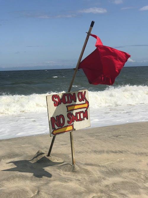 Δωρεάν στοκ φωτογραφιών με #beach #redflag