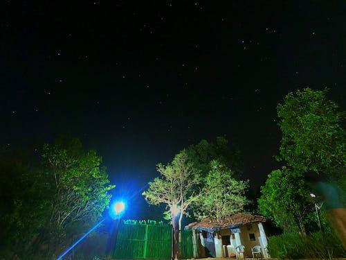 Kostenloses Stock Foto zu langzeitbelichtung, nacht, sterne