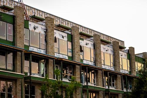 Free stock photo of apartment building, brick, building, building exterior