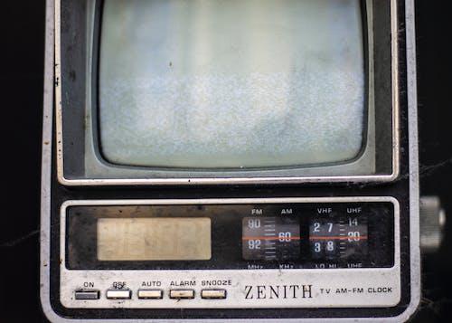 Free stock photo of am-fm, clock, device, digital