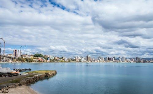 城市, 城鎮, 夏天, 天際線 的 免费素材照片