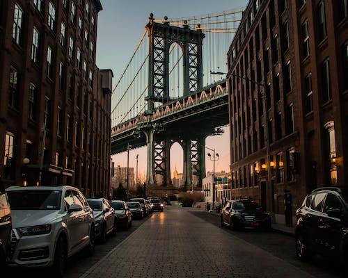 Immagine gratuita di architettura, attrazione turistica, auto, città