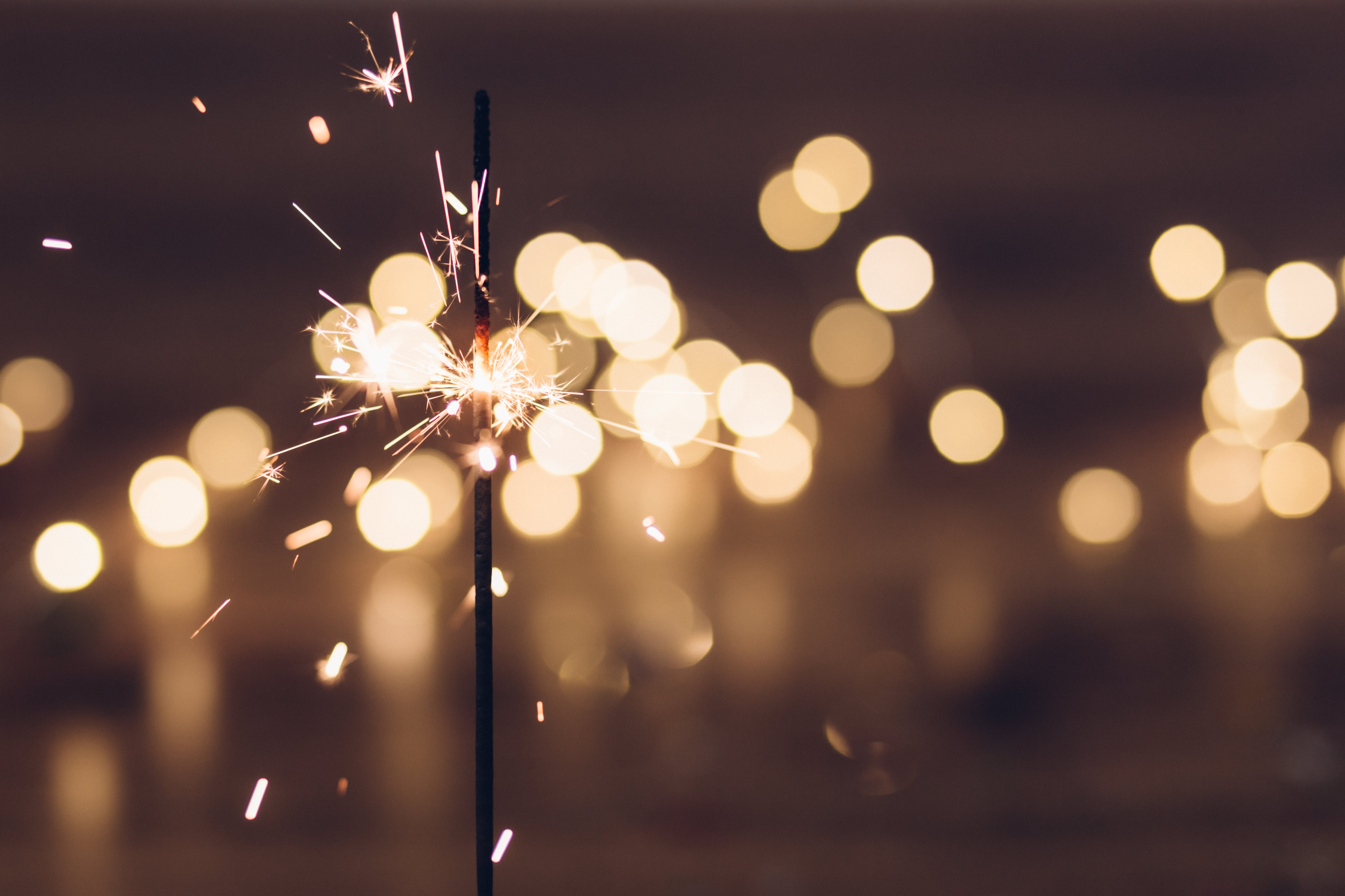 Time-lapse Photography of Sparkle Firecracker