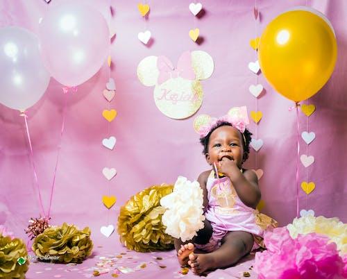 Δωρεάν στοκ φωτογραφιών με βρέφος, γενέθλια, γλυκούλι