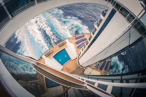 balık gözü, balkon, boş zaman, dalgalar içeren Ücretsiz stok fotoğraf