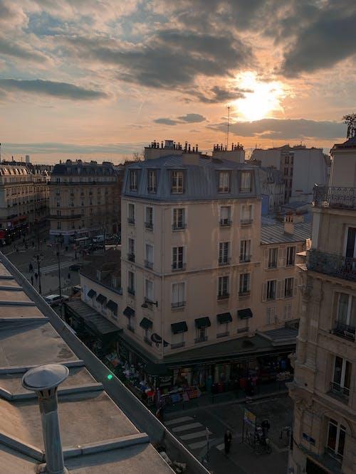 Foto d'estoc gratuïta de a l'aire lliure, alba, arquitectura, capvespre