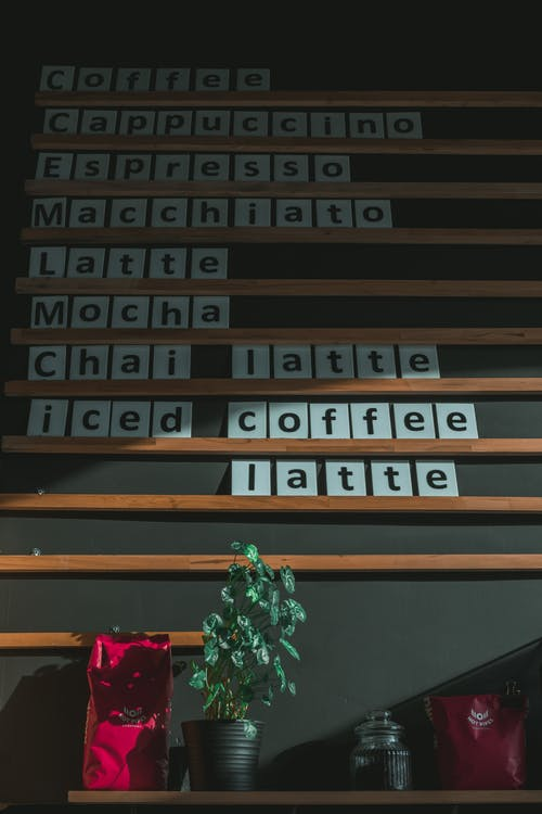 Black Coffee Text Blocks