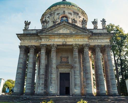 Foto profissional grátis de abóboda, ancião, arquitetura, capela
