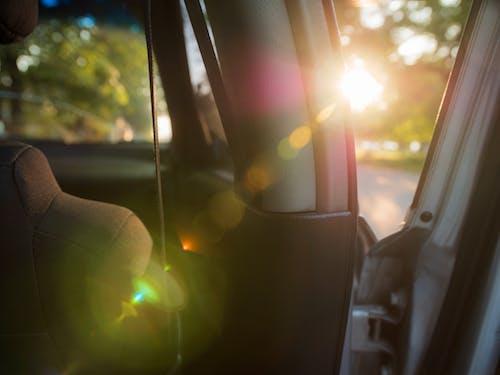 Close-Up Photo of Vehicle Door