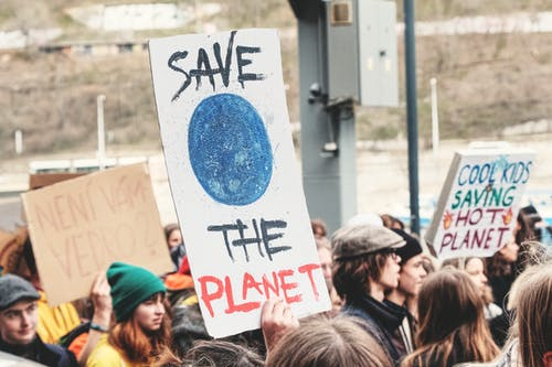 Save The Planet Signage