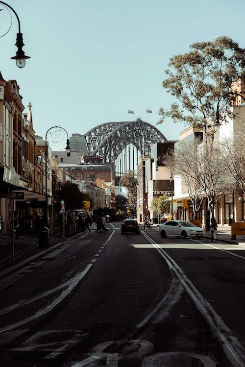 Ingyenes stockfotó belváros, építészet, híd témában
