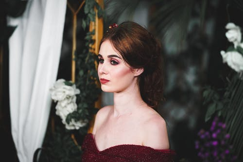 Fotobanka sbezplatnými fotkami na tému bruneta, elegantný, mejkap, na zvislo