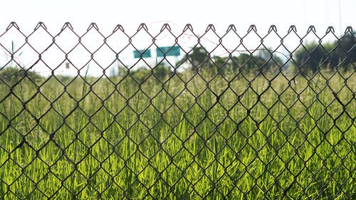 Free stock photo of city, detroit, fence, freeway