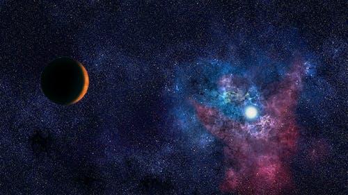 arka fon, uzay sanatı içeren Ücretsiz stok fotoğraf