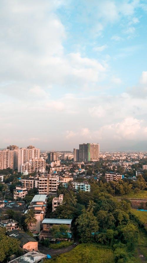 Foto profissional grátis de paisagem da cidade, torre de celular
