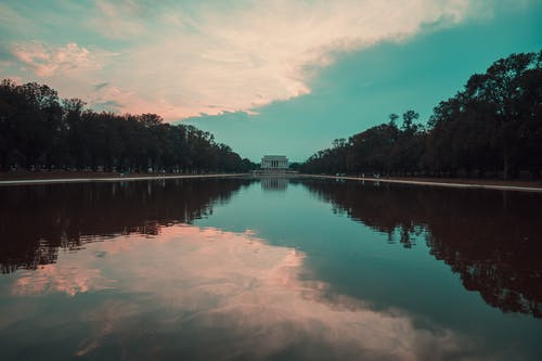 Free stock photo of dc, lincoln, lincoln memorial, lincoln memorial reflection pool