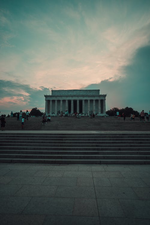Free stock photo of abraham lincoln, dc, lincoln, lincoln memorial