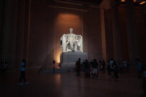 Free stock photo of abraham lincoln, lincoln, lincoln memorial, memorial