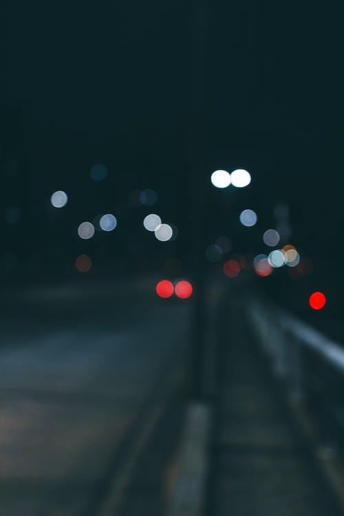กลางคืน, การเปิดรับแสงนาน, ตอนเย็น