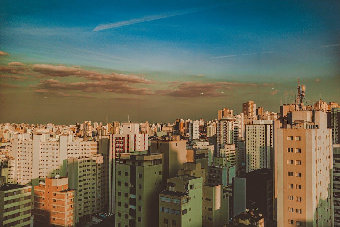 các tòa nhà, cảnh quan thành phố, đô thị