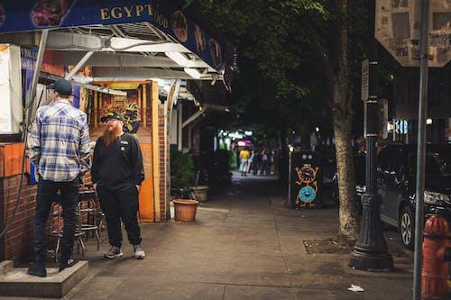 Fotobanka sbezplatnými fotkami na tému chodník, ľudia, mesto, mestský