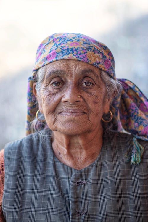 Portrait Photo Of Woman
