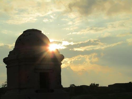 Free stock photo of cloud, evening sun, Golden Temple, temple
