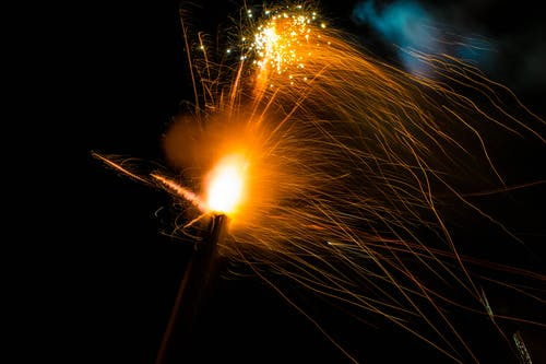 Free stock photo of fireworks, New Years
