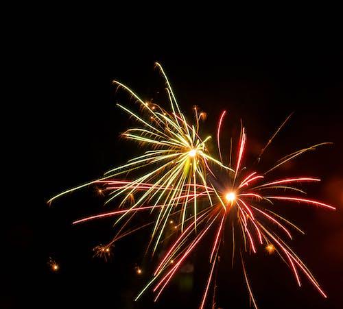 Darmowe zdjęcie z galerii z fajerwerki, nowe lata