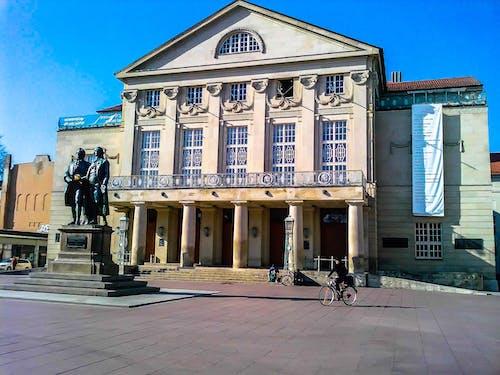 Free stock photo of Deutsches Nationaltheater, Theaterplatz Weimar