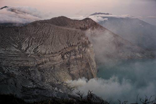 Gratis lagerfoto af bjerge, geologi, himmel, krater