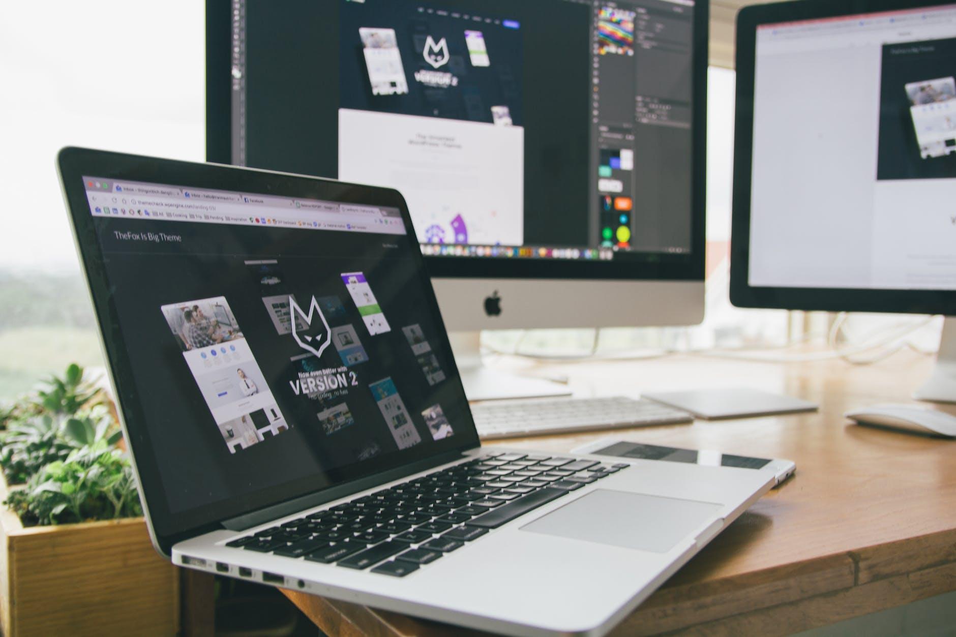 responsive UX website design