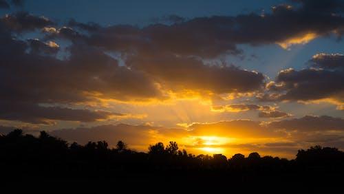 Foto profissional grátis de alvorecer, céu, nascer do sol, natureza