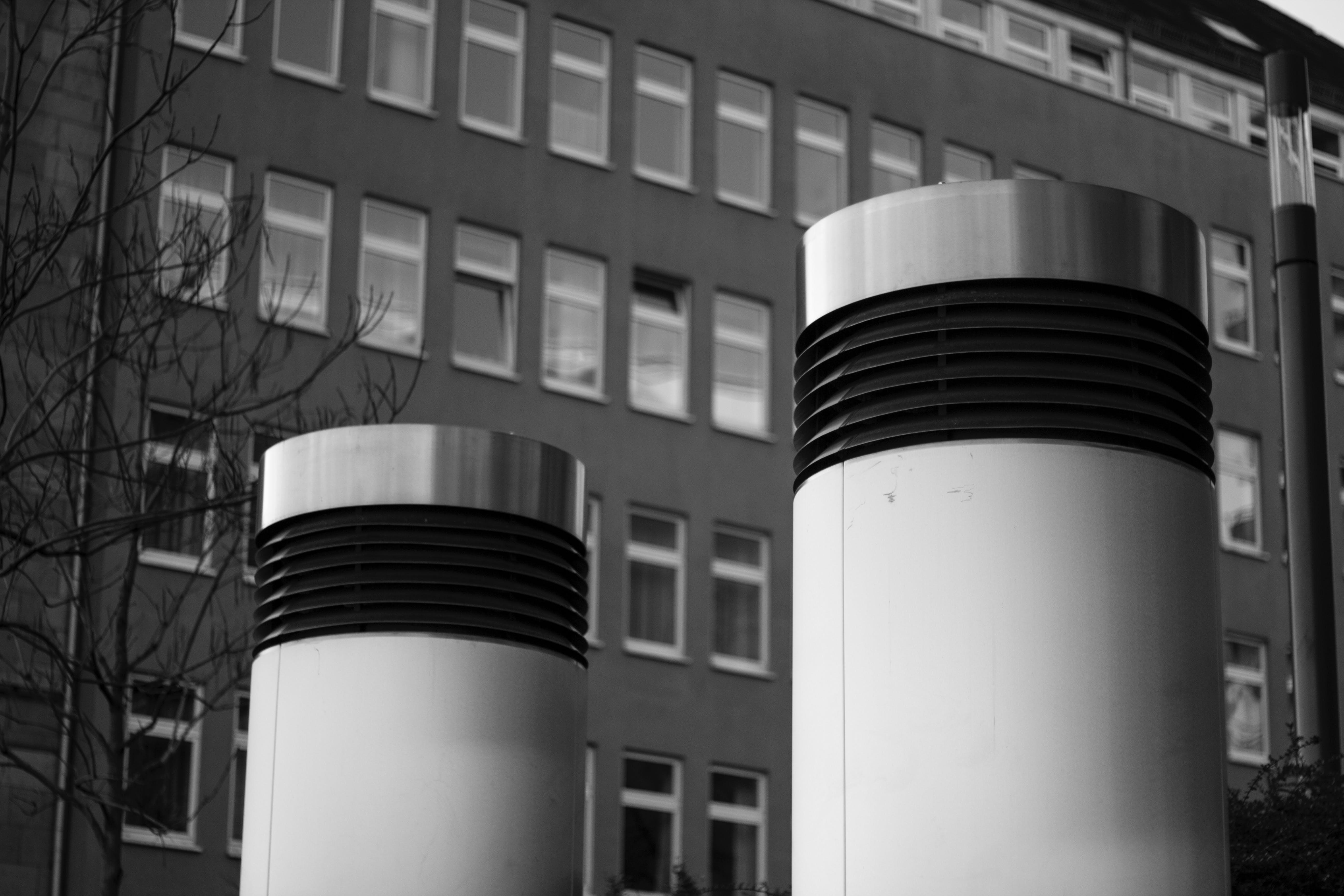 Gratis lagerfoto af forkølelse, gamle bygning, grå, industri