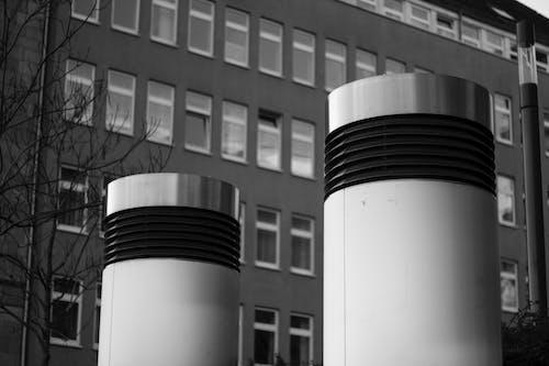 Photos gratuites de arbre, froid, gris, immeubles de bureaux